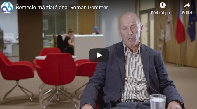 Řemeslo má zlaté dno: Roman Pommer